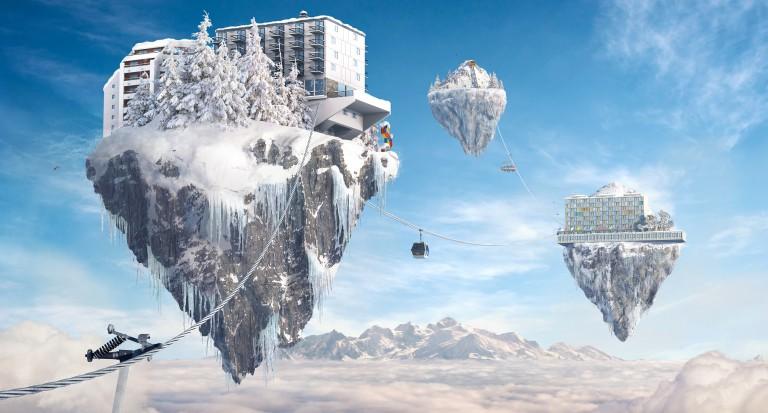 domaine skiable le grand massif stations de ski flaine. Black Bedroom Furniture Sets. Home Design Ideas